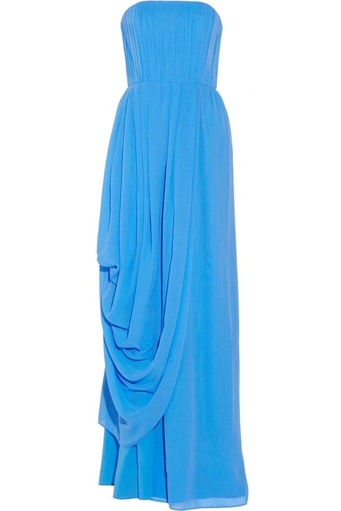 Vestido de fiesta en color azul de Alice + Olivia - Foto Net a Porter