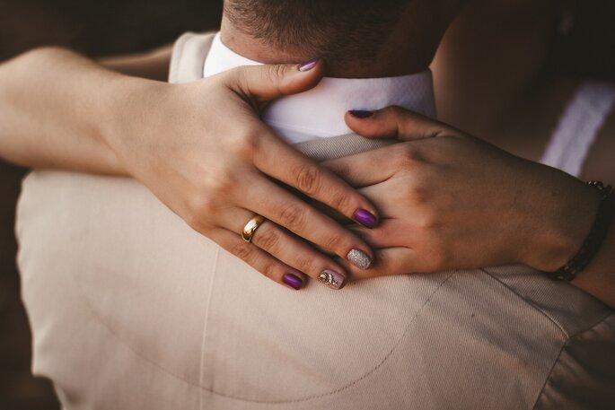 Brautstyling Nägel
