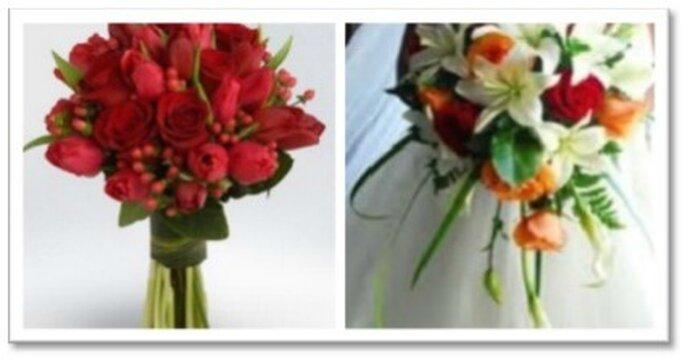 Bouquet para novias románticas y modernas