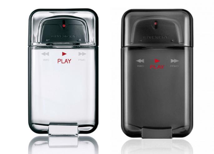 Envase de la nueva fragancia de Givenchy - Play