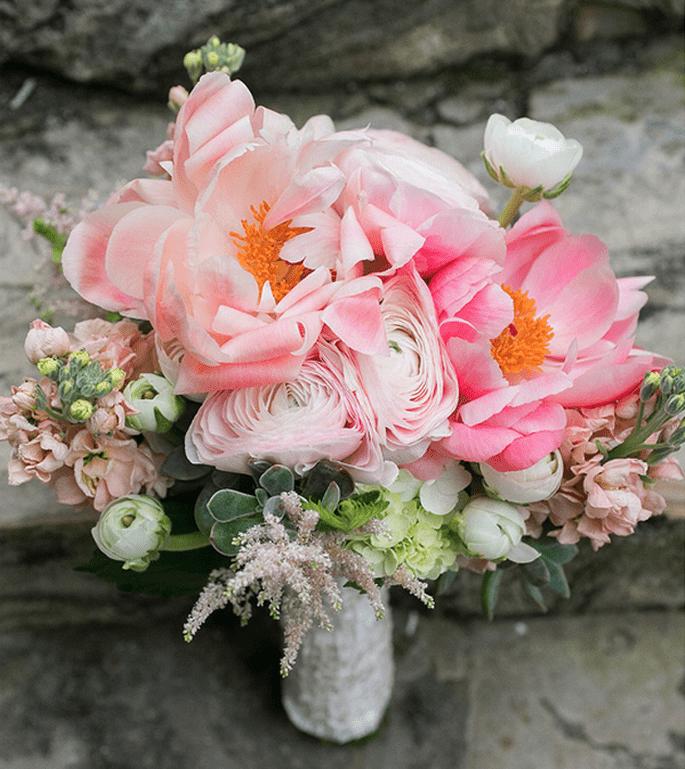 różowy bukiet z róż