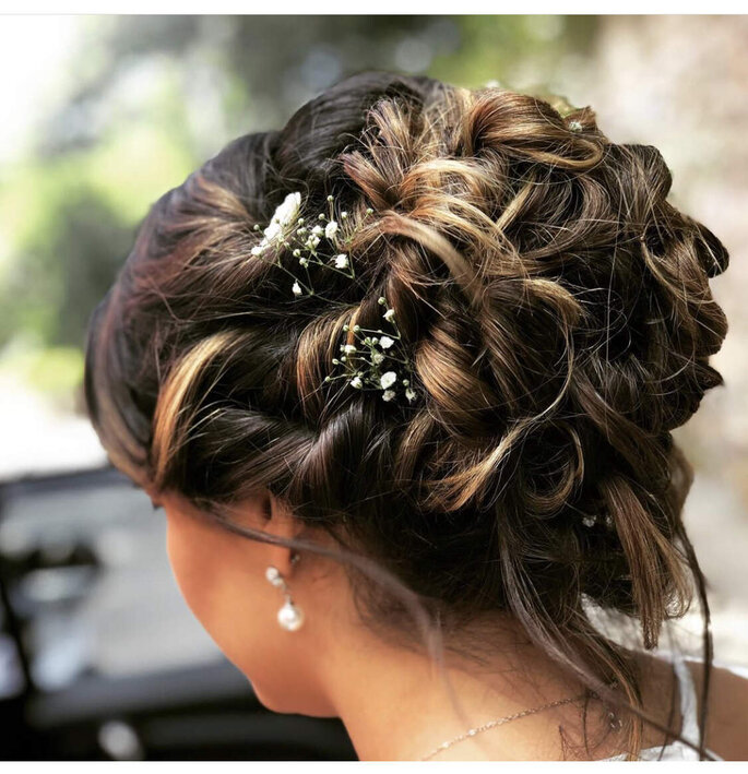 Penteado por Adriana Mendes – Makeup Artist and Hair Stylist