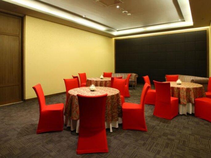 Hotel: Crowne Plaza.