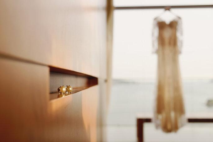 Vestido de noiva: Atelier Carol Hungria - Foto: Fabi Soares Fotografia