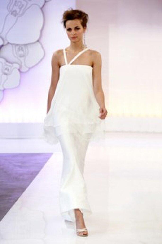 Cymbeline 2010 - Dicton, vestido en dos piezas, en seda