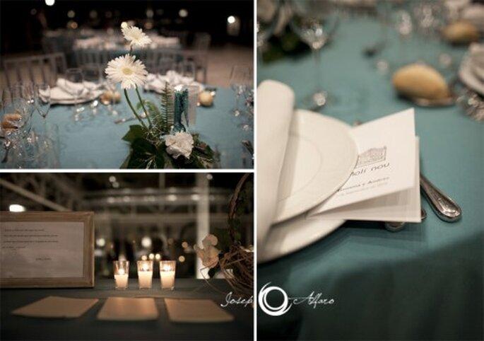 Atención a los detalles en una boda minimalista