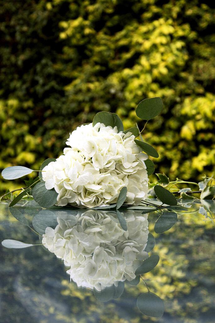Martina Di Palma eventi green - bouquet sui toni del bianco