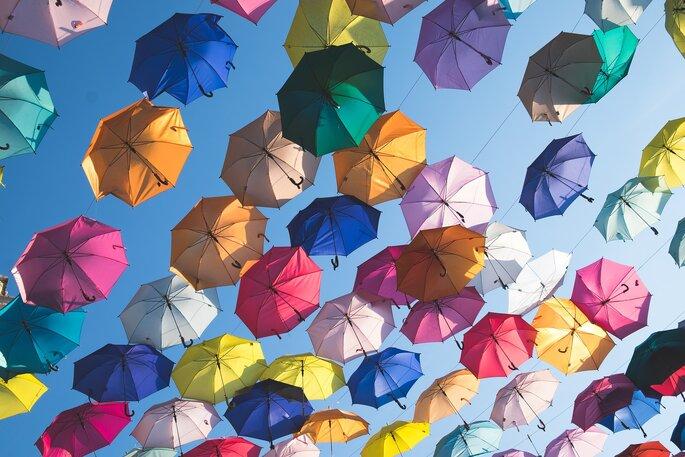 paraguas de tlaquepaque guadalajara - lugares románticos guadalajara