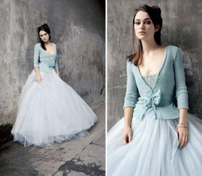 Vestido de Noiva para o Inverno - cores de inverno