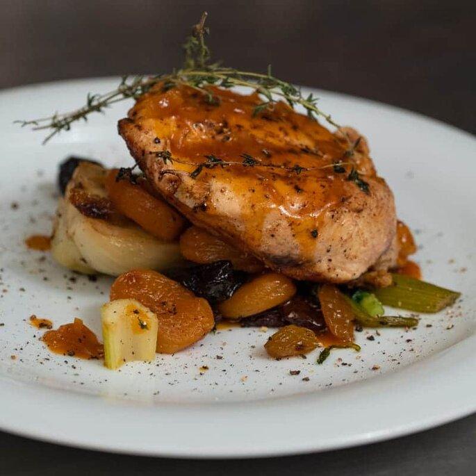 Une recette à préparer pour vos invités, servie à votre dîner de mariage