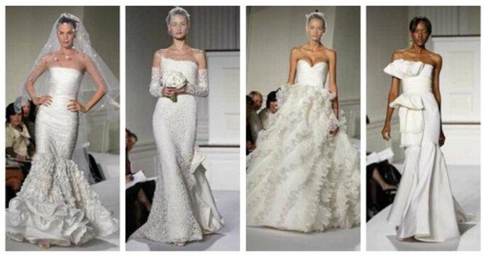 Colección de novia de Oscar de la Renta