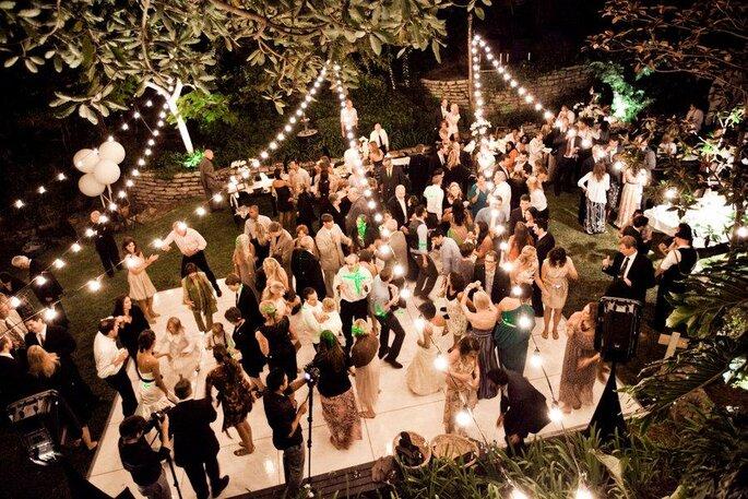 Hochzeitsparty Tanzfläche