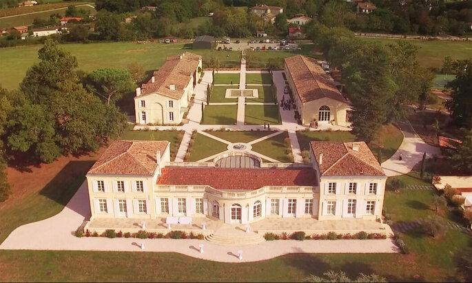 Vue d'ensemble du Château Gassies