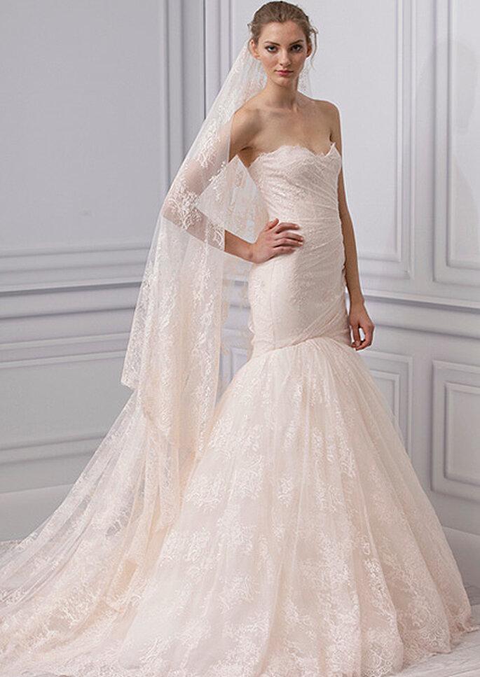 Suknia ślubna Monique Lhuillier 2013