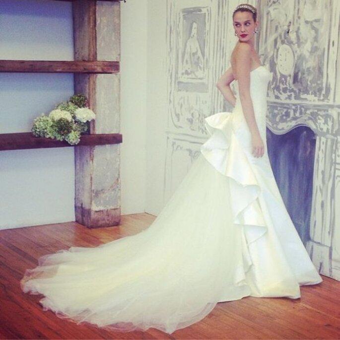 Vestido de novia diseñado por Zac Posen - Foto Zac Posen Pinterest
