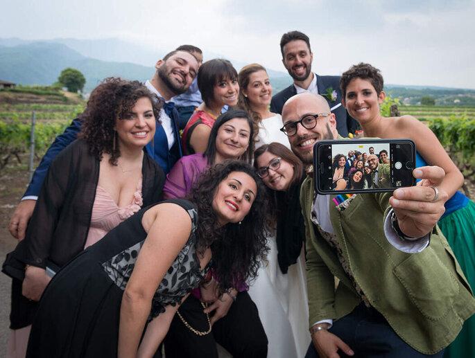 Giuseppe Costanzo - selfie di gruppo