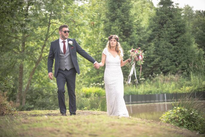 Emily And Jonny S Boho Themed Wedding At Home