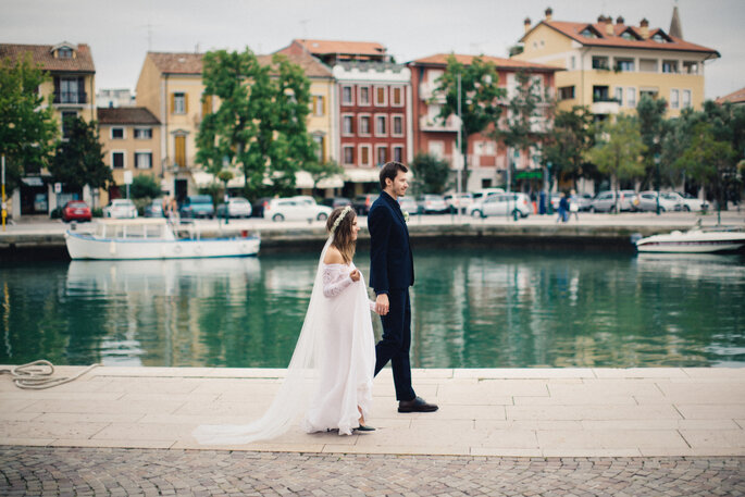 Duepunti Fine Art Wedding Photography via Style Me Pretty