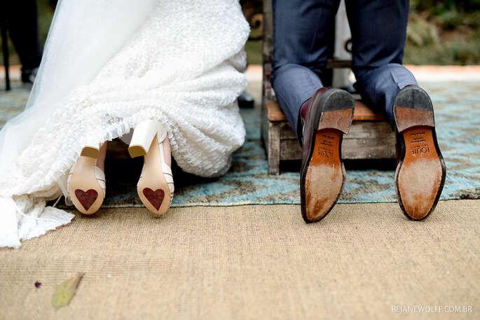 sola do sapato casamento