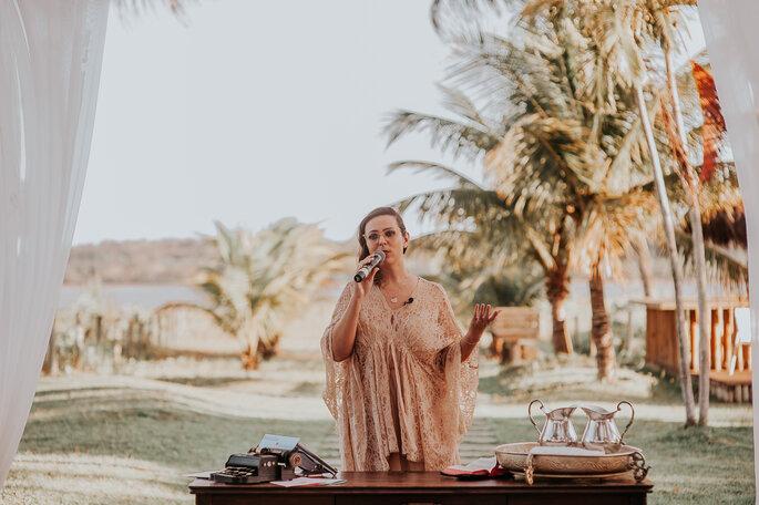 Celebrante: Liandra Zanette - Foto: Cleidimar Lopes