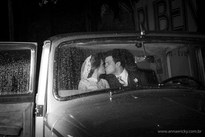 carro do casamento