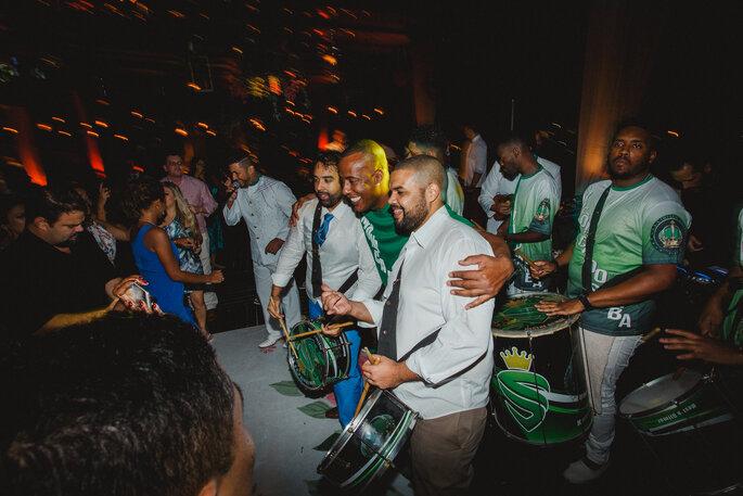 Bateria da Escola de Samba Império Serrano - Fotografia: Alexandre Rechtman