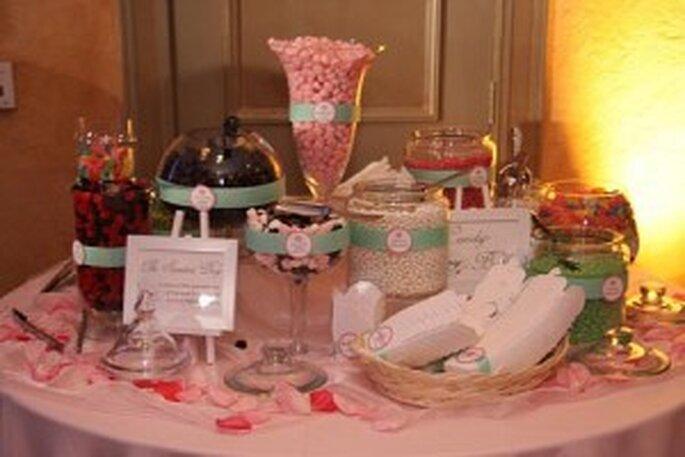 Buffet de dulces para decorar y comer