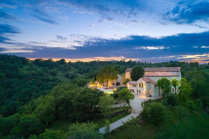 Domaine de Baldassé - Lieu de réception pour votre mariage - Aveyron