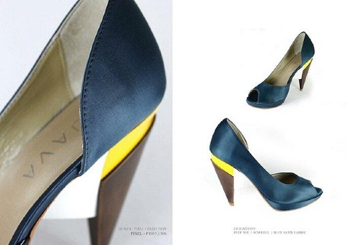 f2d93b855 Colecção de sapatos Guava Primavera/Verão 2012. Foto: Divulgação