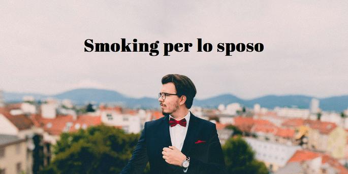 Smoking per lo sposo
