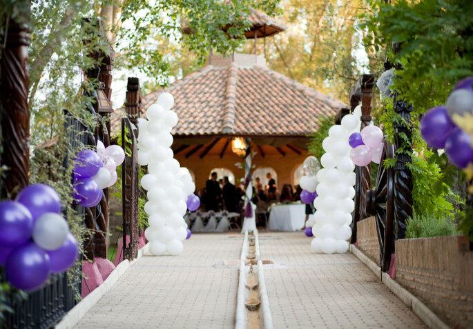 Jardín El Botero finca bodas Madrid