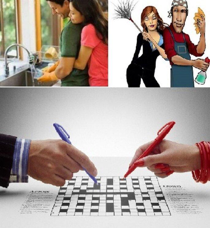 Equidad en las labores domésticas