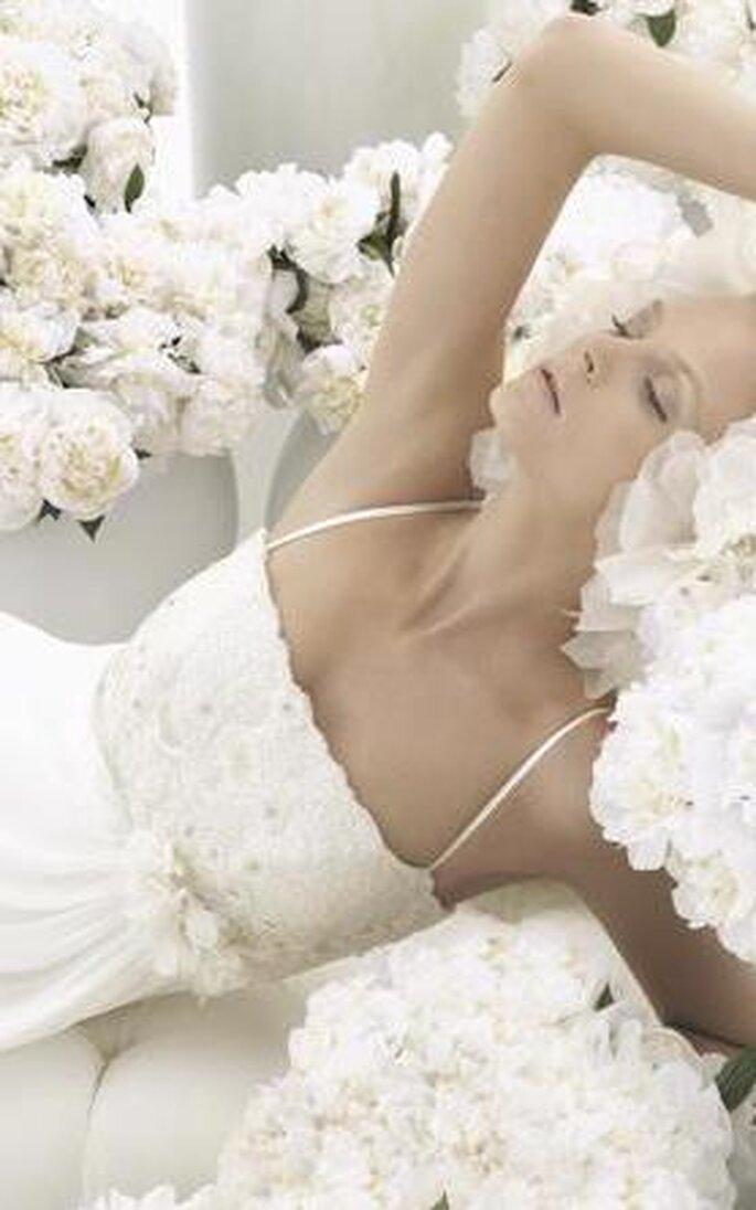abiti da sposa con spalline