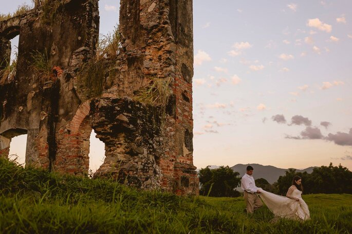 Trash the dress Bruna e Marcio