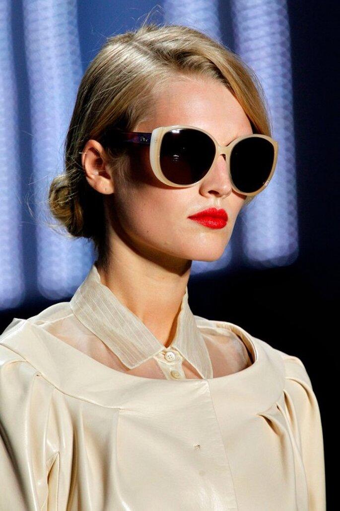 Lentes de sol Dior. Foto Runway spring/summer Dior