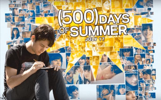 amour cinéma films romantiques 500 jours ensemble 550 days of summer