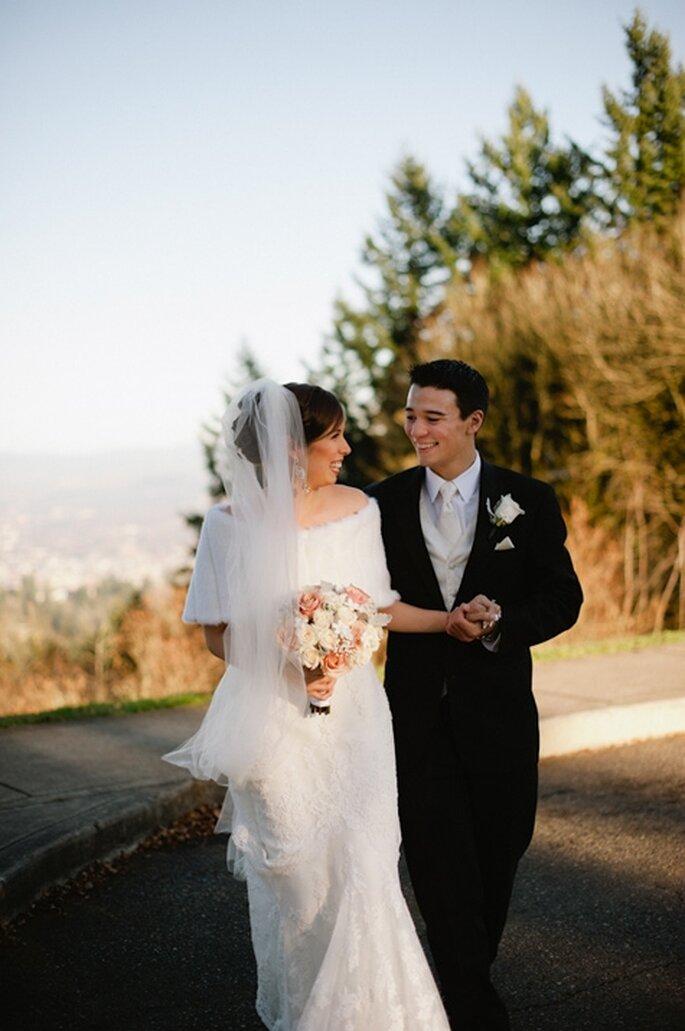 Organiza tu boda en un parque. Foto de Jen Lynne