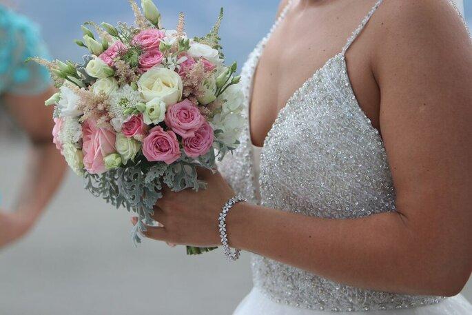 bouquets de noiva romântico