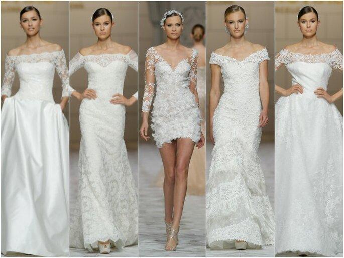 Pronovias, colección 2015. Foto: Barcelona Bridal Week