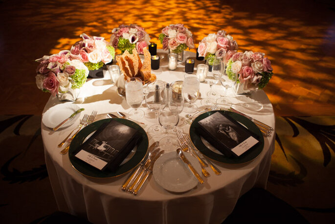 Boda en Beverly Hills al estilo Old Hollywood. Foto: Michael Segal Photography