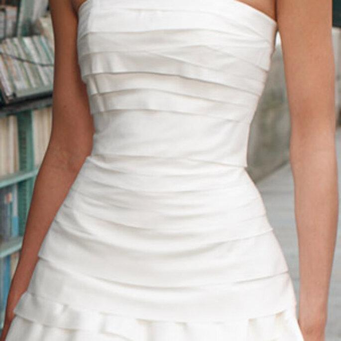 Robe de mariée Les privées Cymbeline 2011 - Herenie, en détail