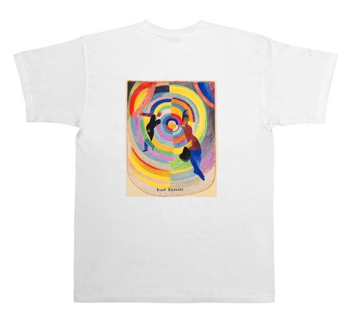 Wenn es mal ausgefallener sein soll, dann ist dieses tolle T-Shirt mit Kuns-Print der Hit!