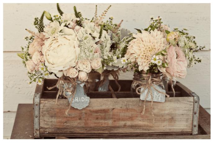 Incroyables idées déco pour un mariage vintage super trendy - Photo Ashley Maxwell
