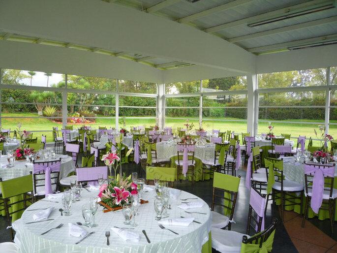 El sitio ideal para bodas campestres en Bogotá. Foto: Laverdieri Club