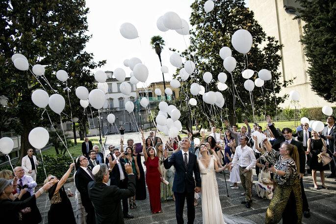 Globos para decorar tu boda  - David Bastianoni