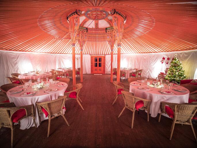 Le Nomade Lodge - Lieu de réception pour votre mariage - Seine-et-Marne