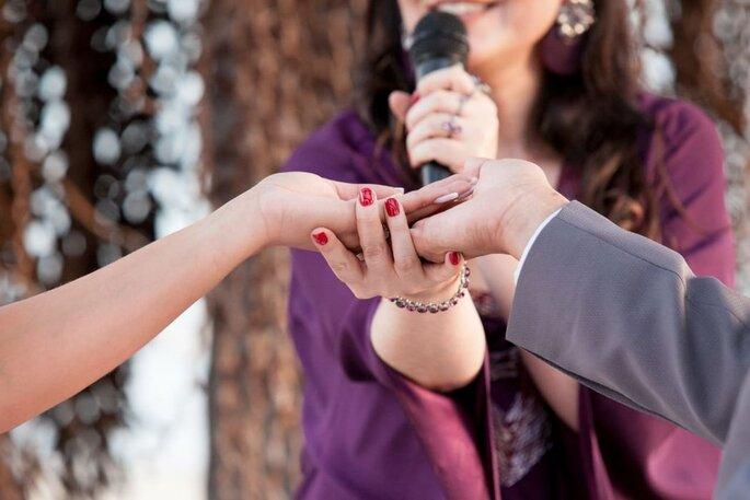 Casamento no civil com a Juiza de Paz, Luciana Rocha
