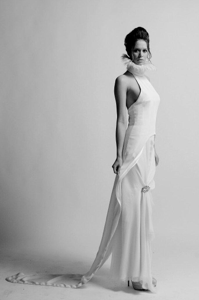 Laurent Kapelski, créateur de robes de mariée