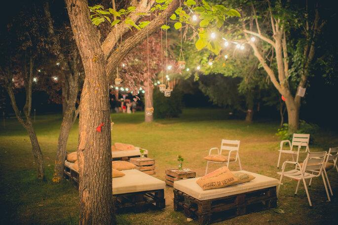 decoracion jardin boda