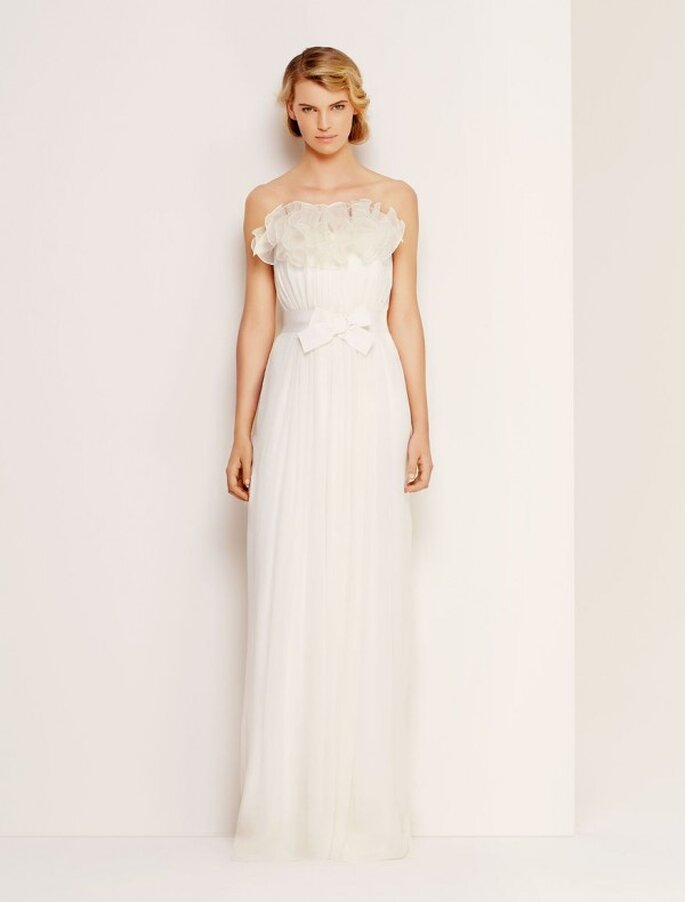 Vestidos de novia perfectos para una chica trendy - Foto Max Mara